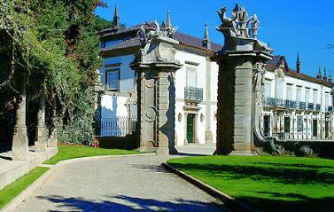 Historical accommodation in Portugal:Historical Inn of Mes�o Frio - Solar da Rede pousada.