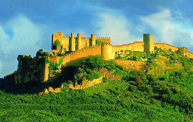 Historical accommodation in Portugal: Historical Inn of �bidos - Castelo de �bidos pousada.