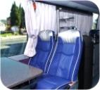 Deluxe limousines, vans, buses. Luxury tourism coaches for first class tours and excursions.